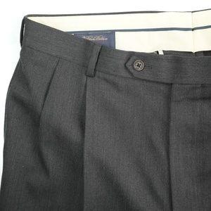 Brooks Brothers 1818 Madison Pleated Dress Pants